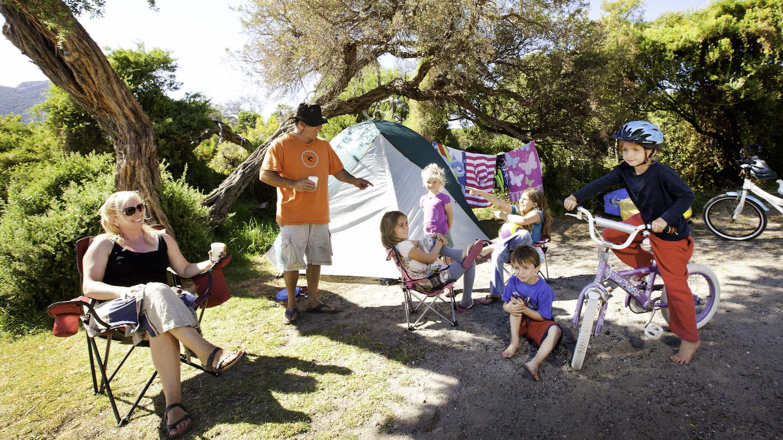 Tidal River Campground, Wilsons Promontory, Gippsland, Victoria, Australia