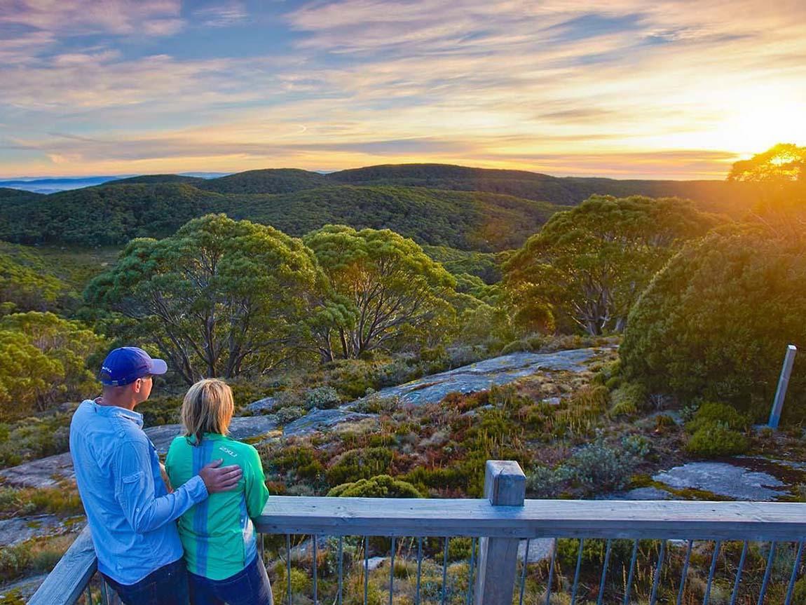 Mt Baw Baw Summit Walk, Gippsland, Victoria, Australia
