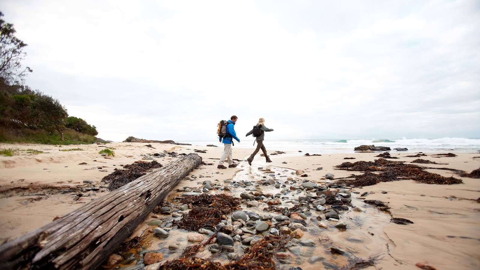 Wilderness Coast Walk, roajingolong National Park, Gippsland, Victoria, Australia