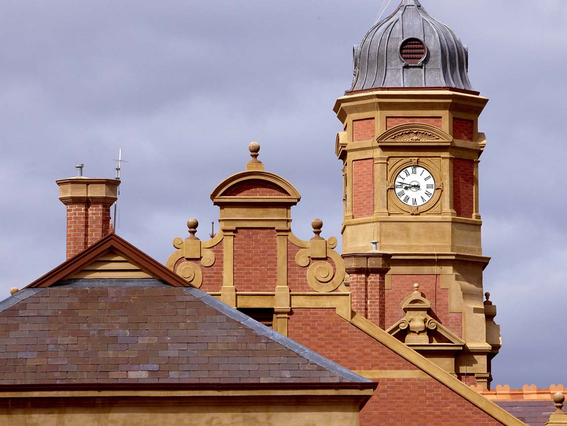 Maryborough Historic Railway Station, Maryborough, Goldfields, Victoria, Australia