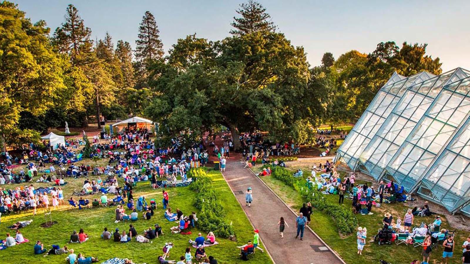 Ballarat Botanical Gardens events, Goldfields, Victoria, Australia