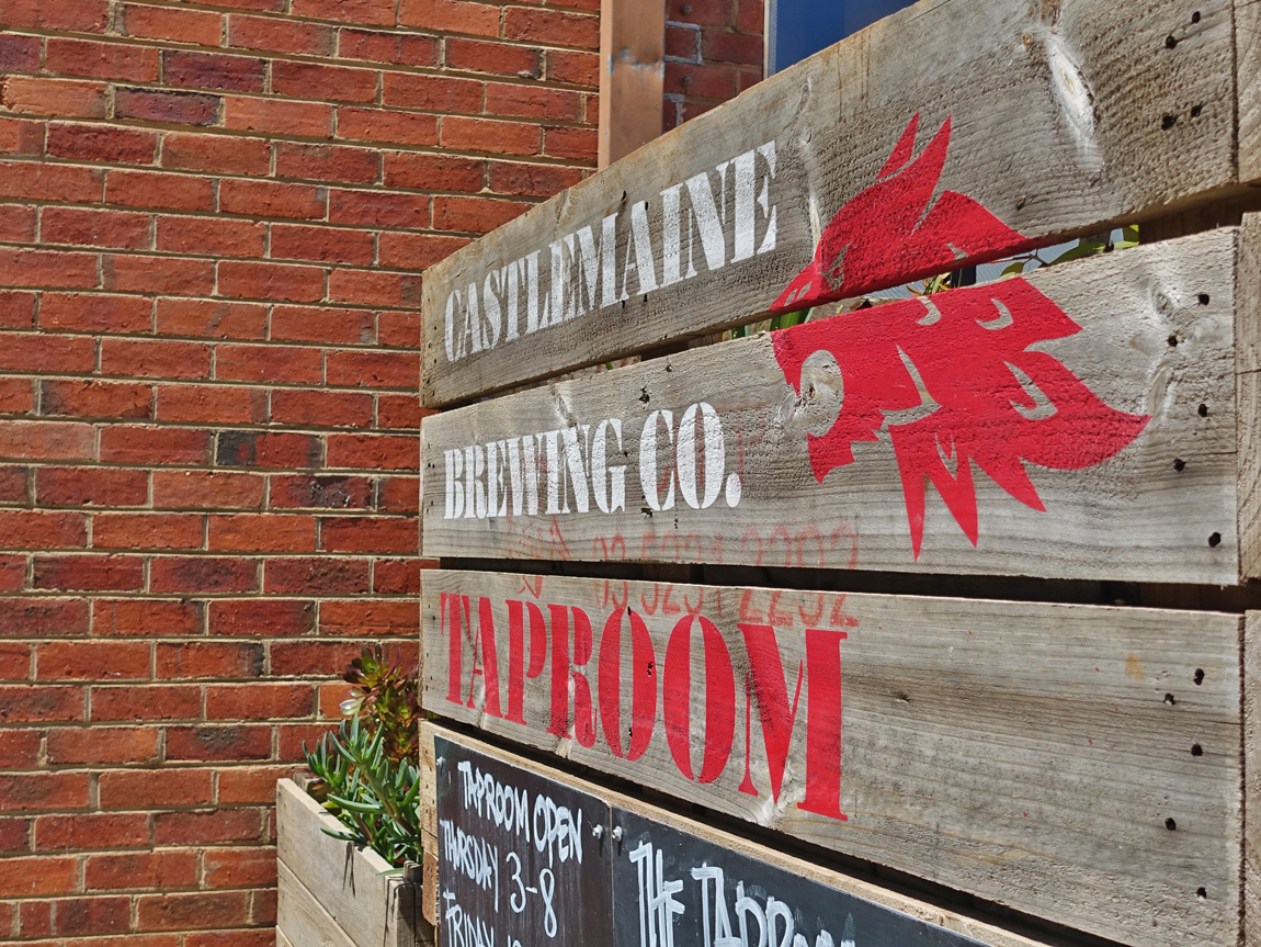 Castlemaine Brewing Company, Castlemaine, Goldfields, Victoria, Australia