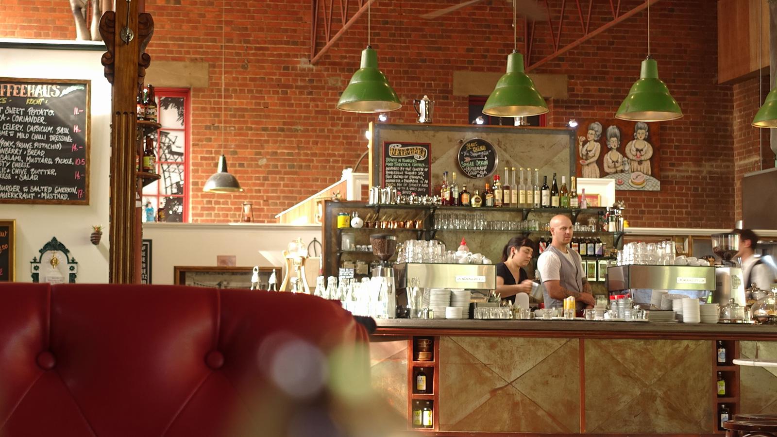 Das Kaffeehaus, Castlemaine, Goldfields, Victoria, Australia
