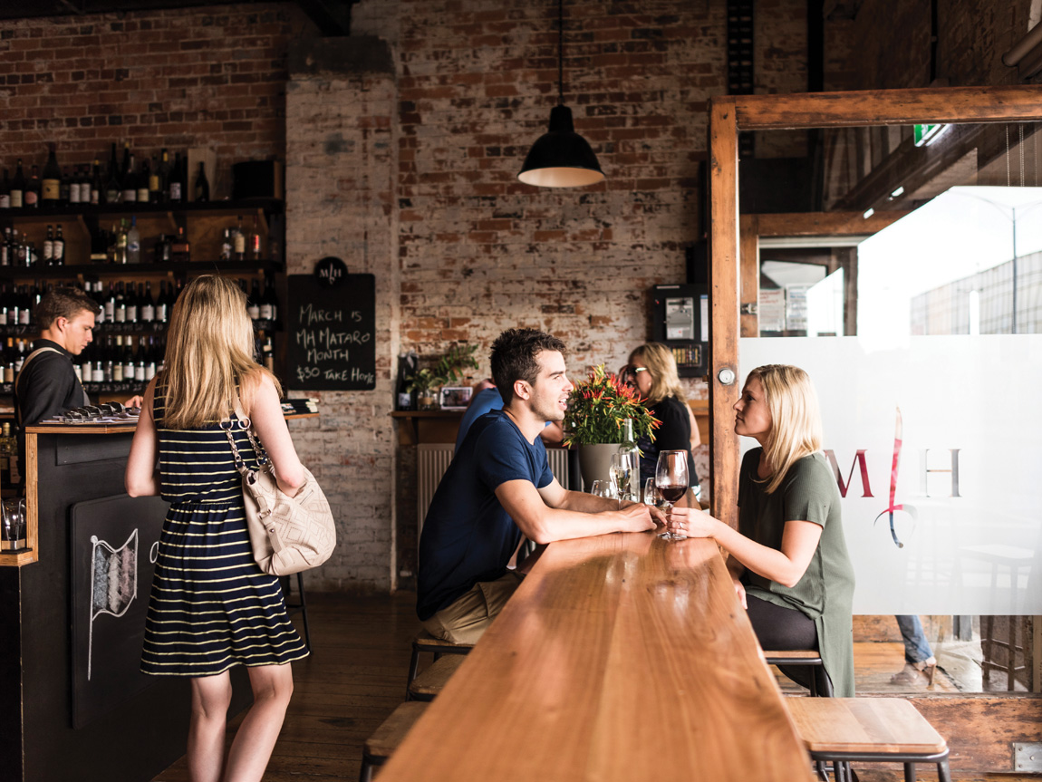 Mitchell Harris Wine Bar, Ballarat, Goldfields, Victoria, Australia