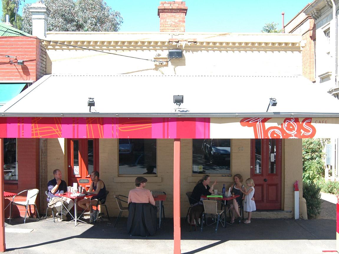 Tog's Cafe, Goldfields, Victoria, Australia