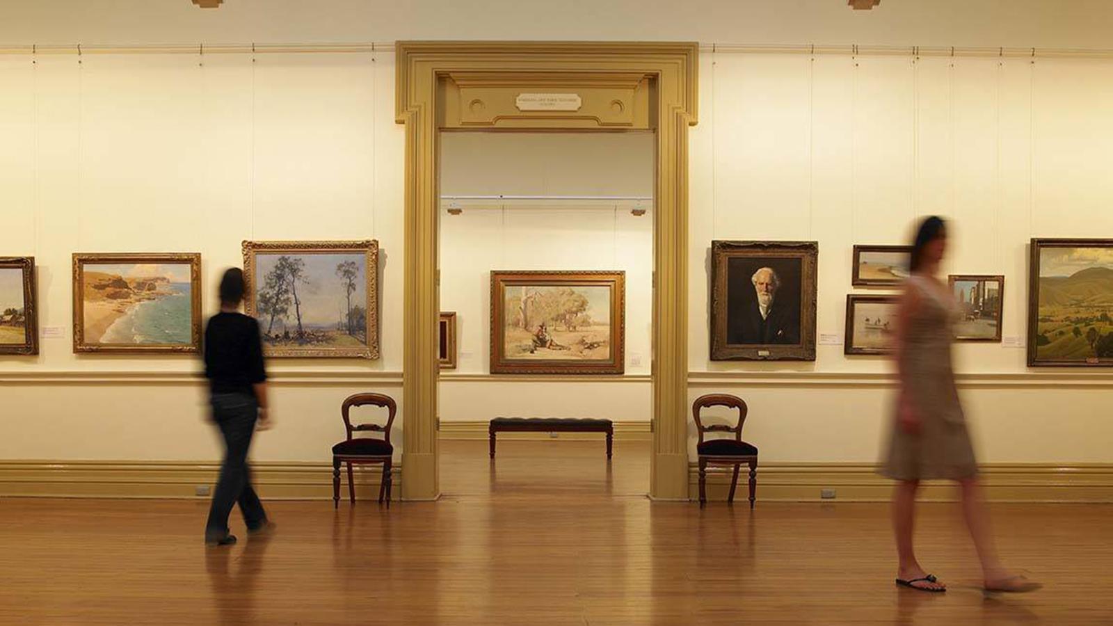 Ballarat Art Gallery, Goldfields, Victoria, Australia