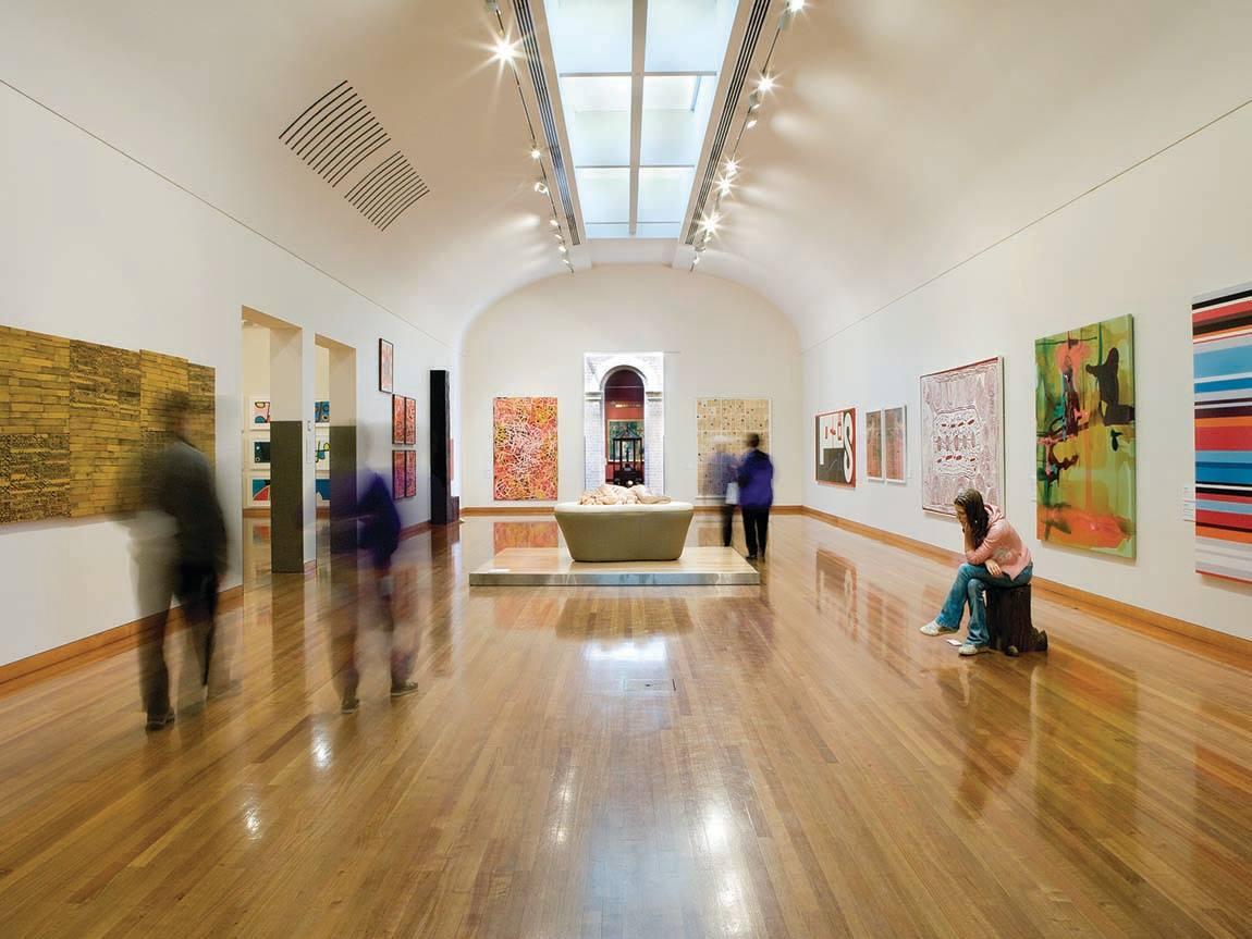 Bendigo Art Gallery, Goldfields, Victoria, Australia