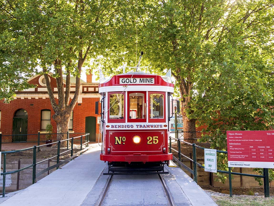 Bendigo Tramways Museum, Goldfields, Victoria, Australia