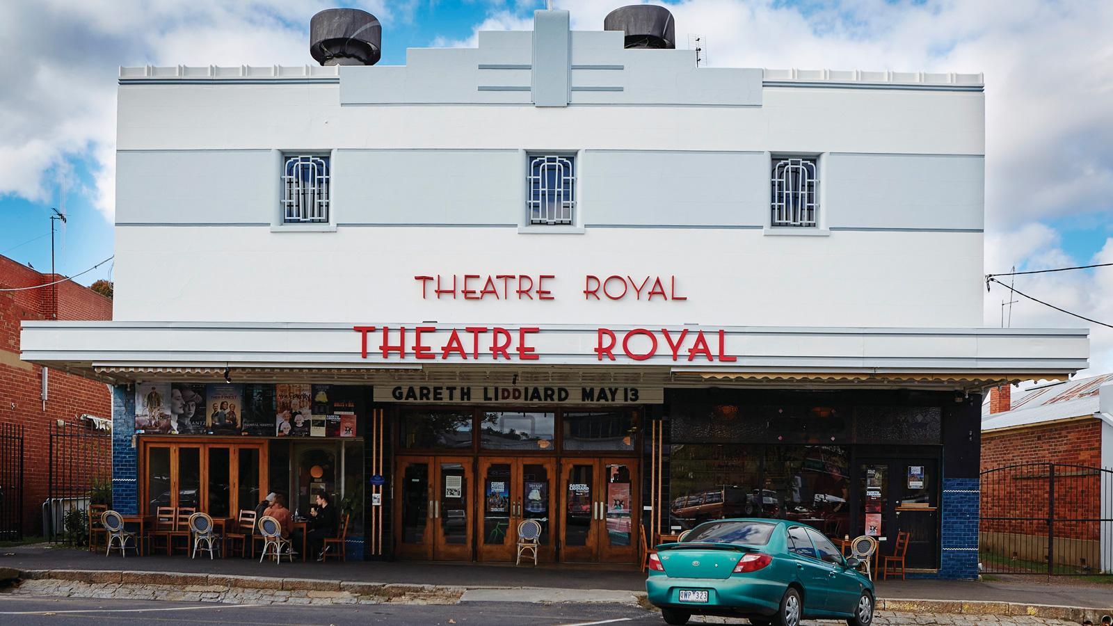 Theatre Royal, Castlemaine, Goldfields, Victoria, Australia