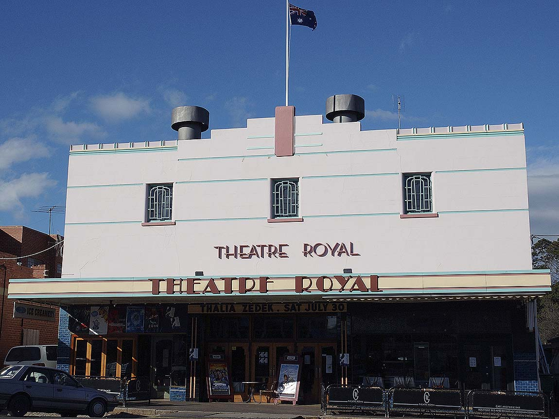 Theatre Royale, Castlemaine, Goldfields, Victoria, Australia