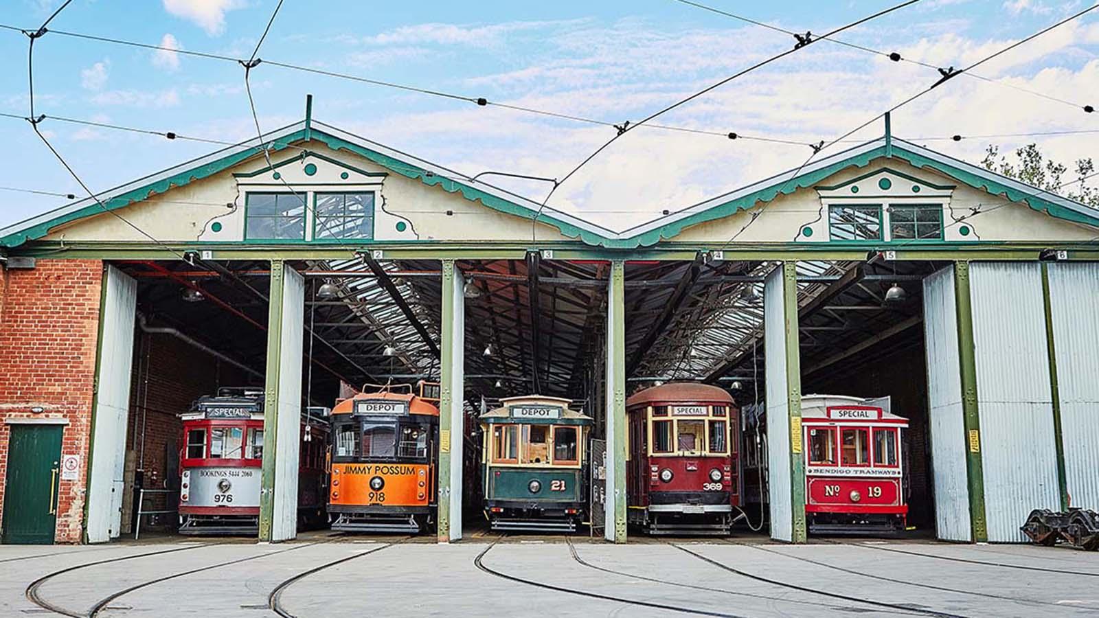Bendigo Tramways, Bendigo, Golfields, Victoria, Australia