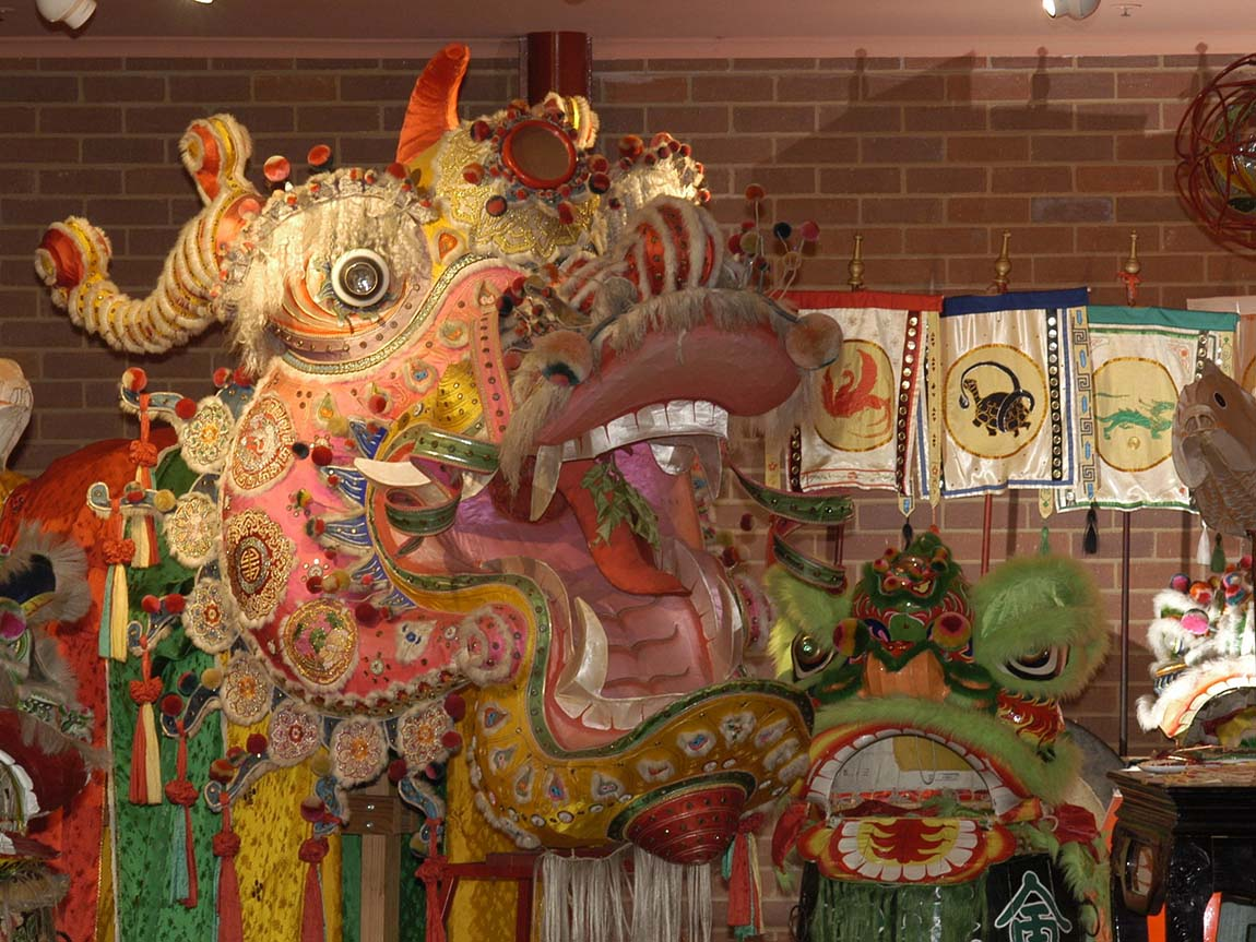 Golden Dragon Museum, Bendigo, Goldfields, Victoria, Australia