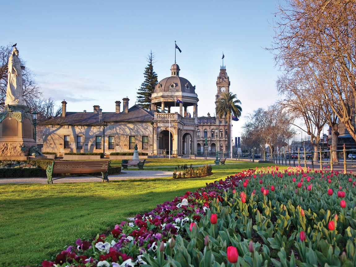 Soldiers Memorial, Bendigo, Goldfields, Victoria, Australia