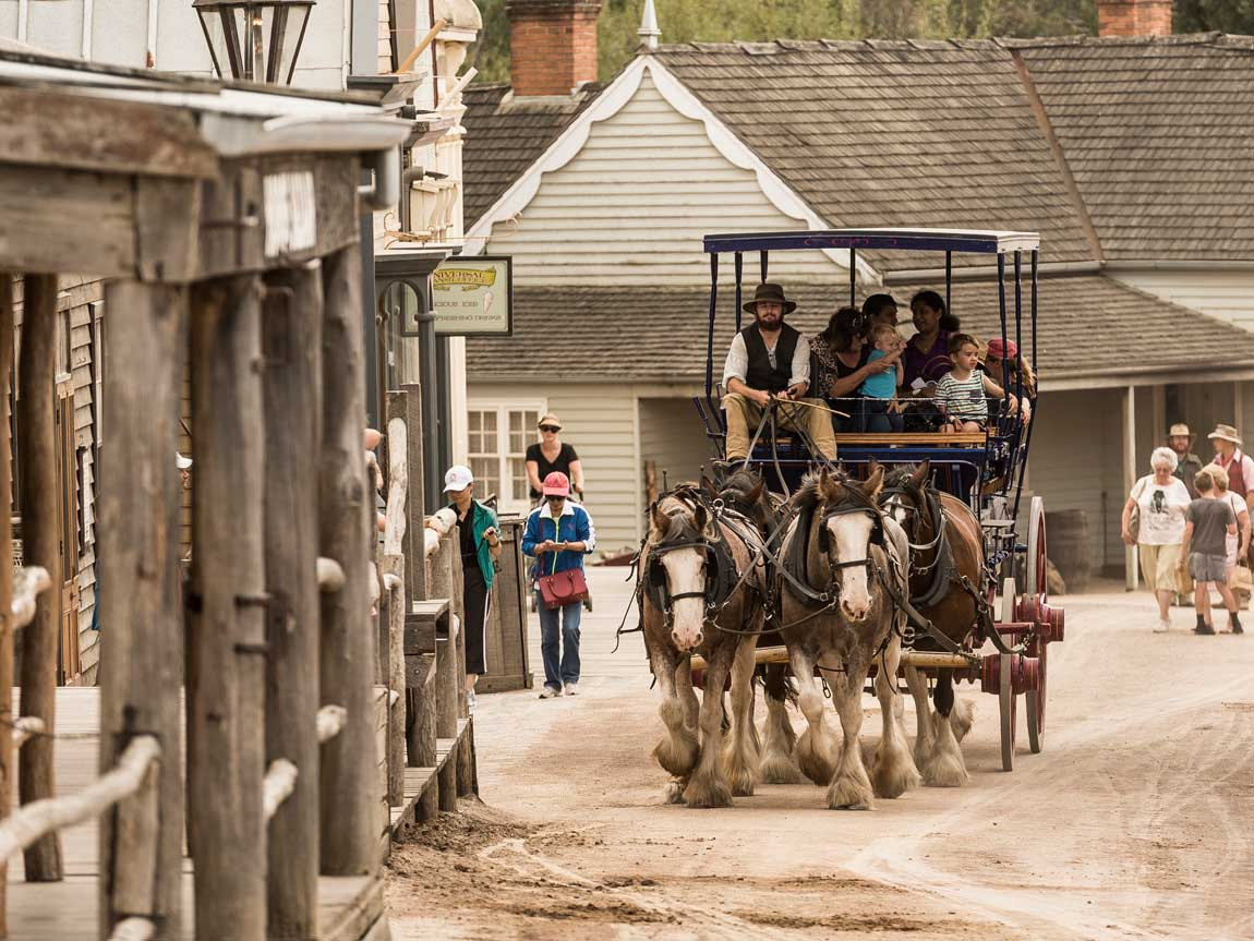 Sovereign Hill, Ballarat, Goldfields, Victoria, Australia
