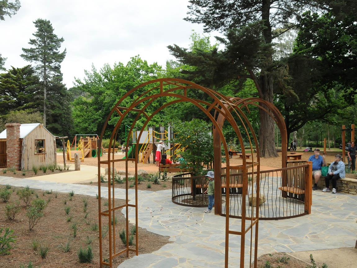Castlemaine Botanical Gardens, Goldfields, Victoria, Australia