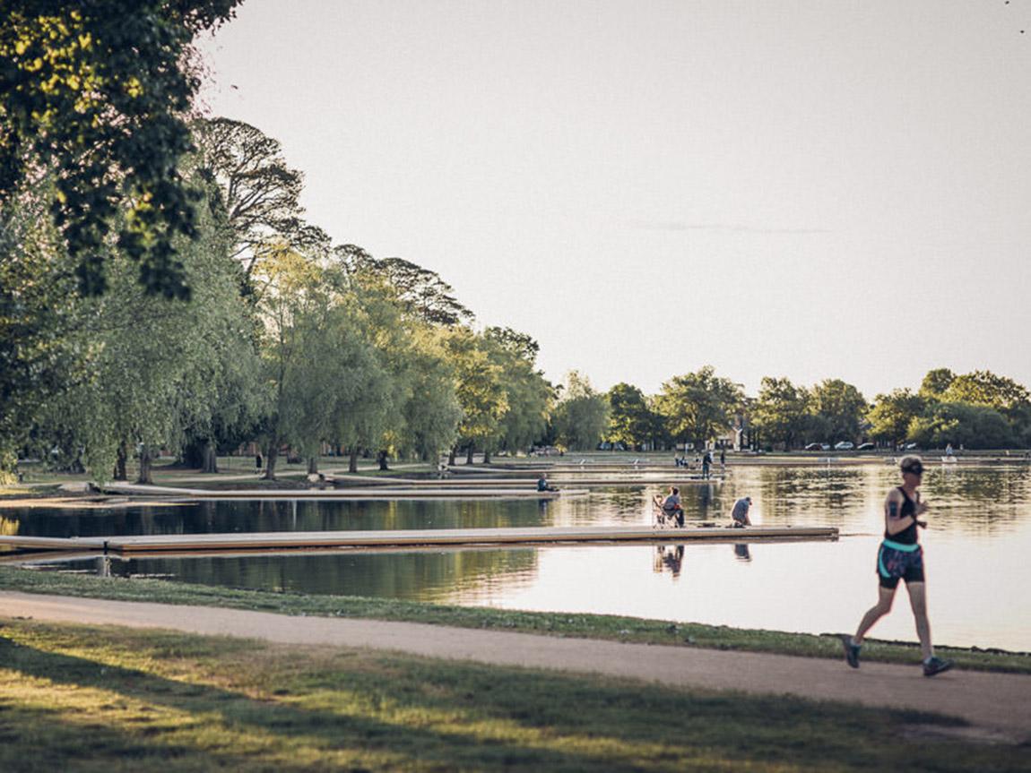 Lake Wendouree, Goldfields, Victoria, Australia. Credit: Athony Evans