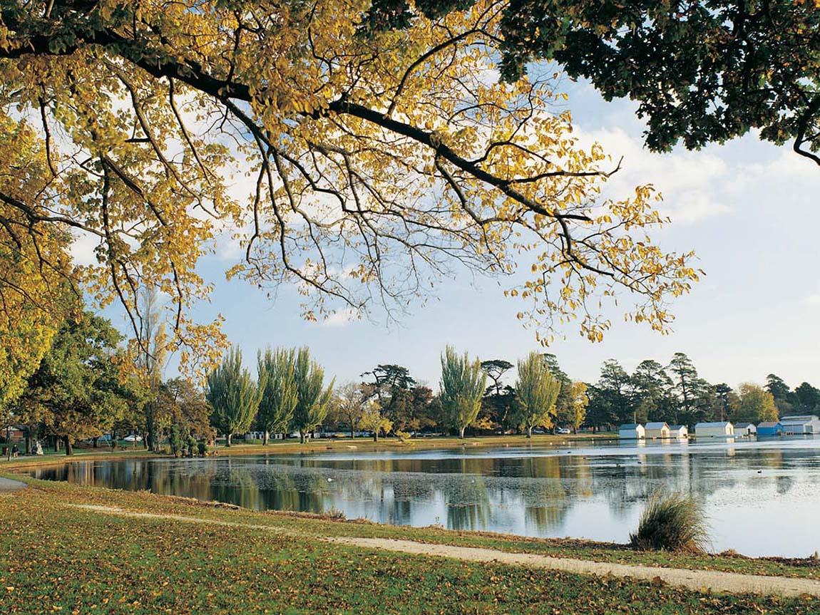 Lake Wendouree, Goldfields, Victoria, Australia
