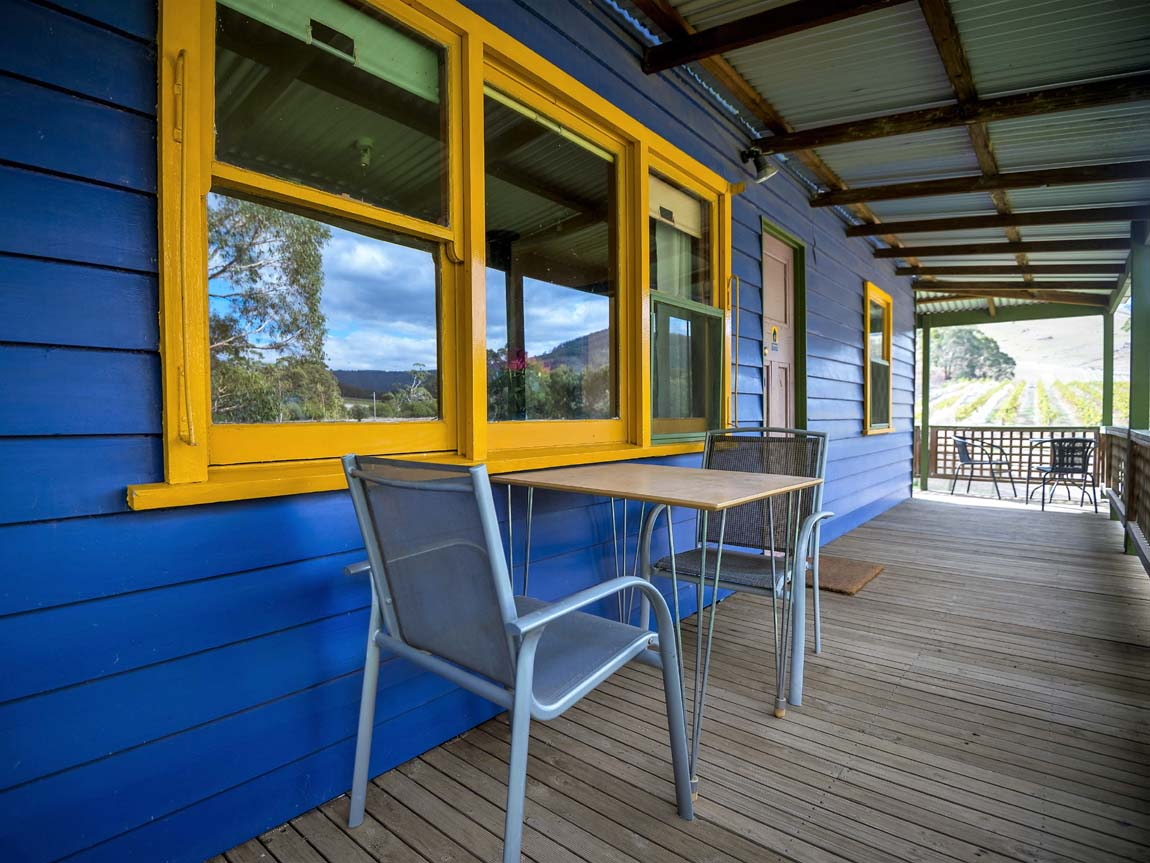 Mountainside Wines - The Blue House Accommodation, Grampians, Victoria, Australia