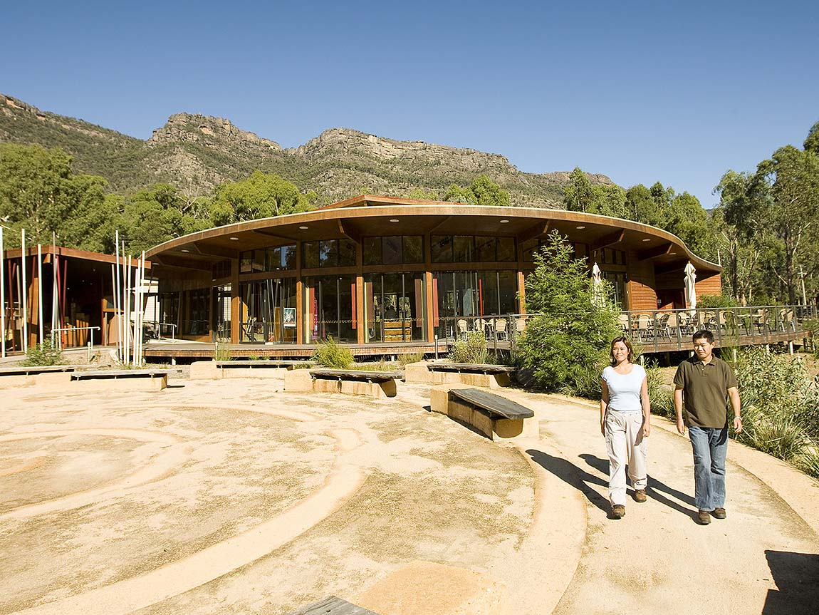 Brambuk – The National Park and Cultural Centre, Grampians, Victoria, Australia