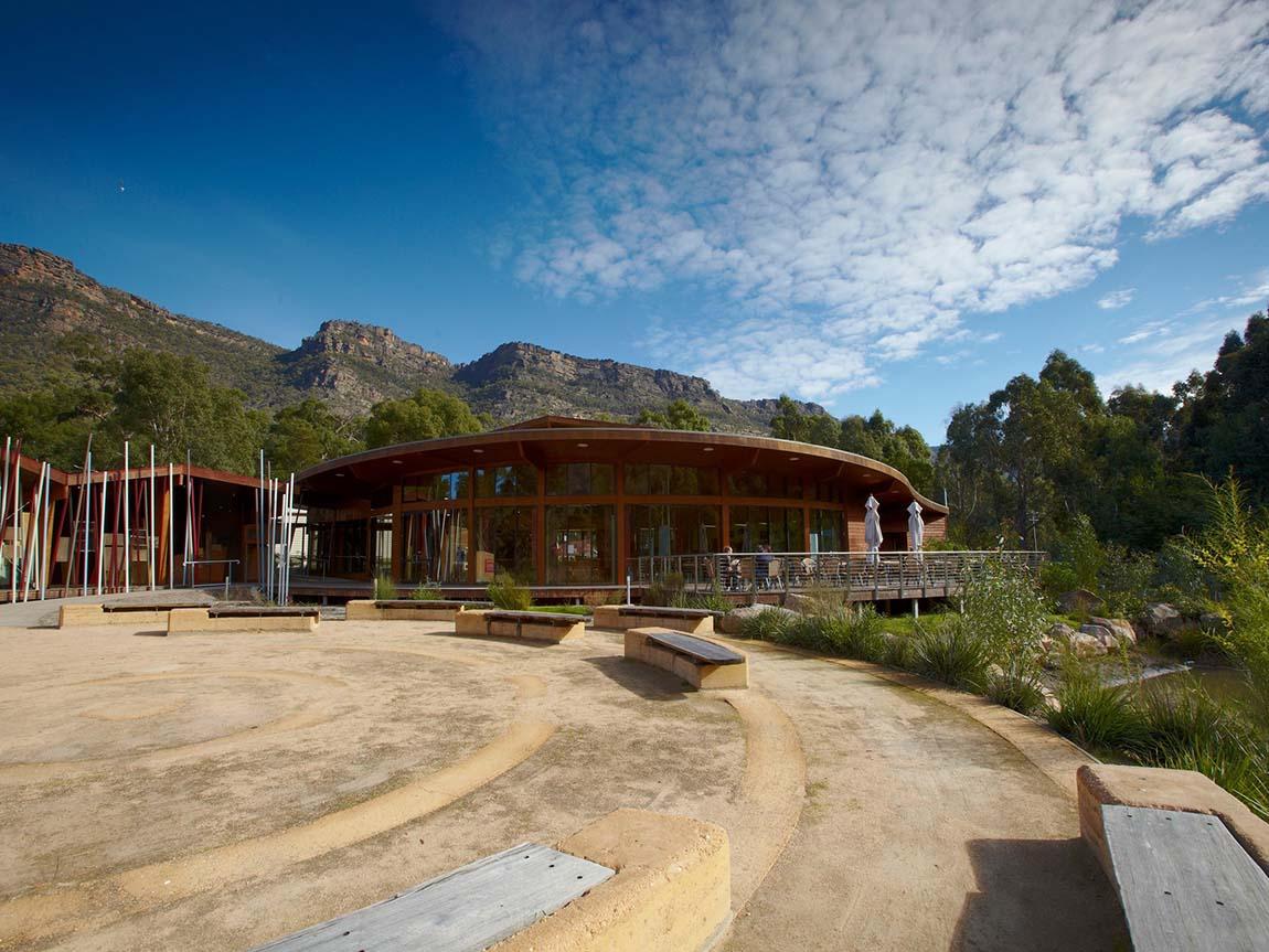 Brambuk – The National Park and Cultural Centre, Grampians, Victoria, Australia