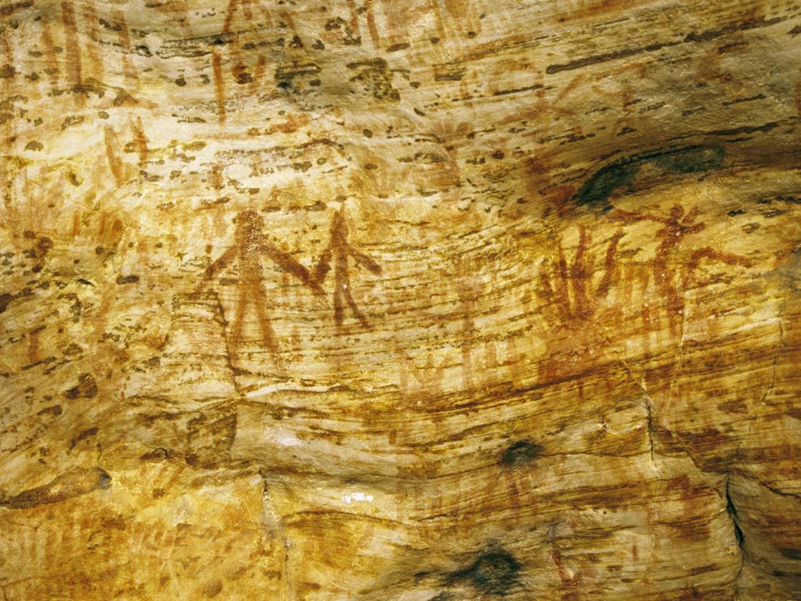 Rock art, Grampians, Victoria, Australia