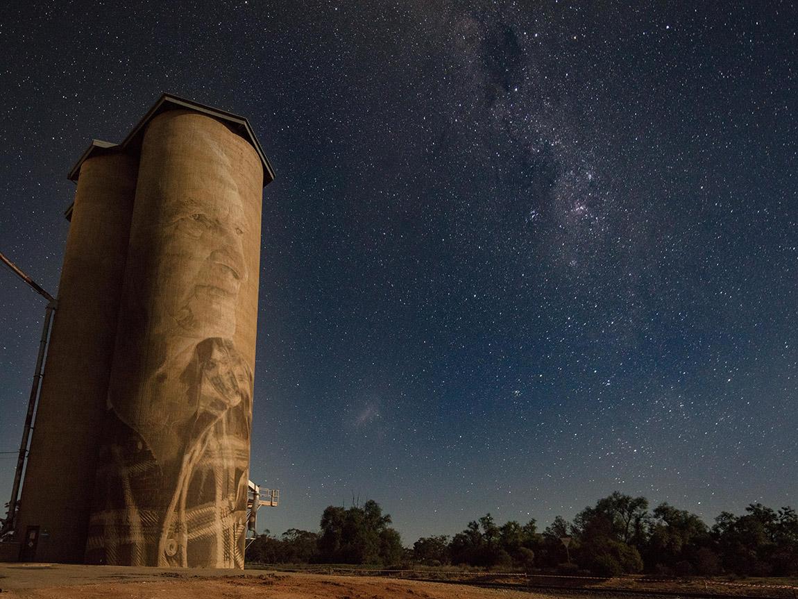 Lascelles Silo Art, Grampians, Victoria, Australia