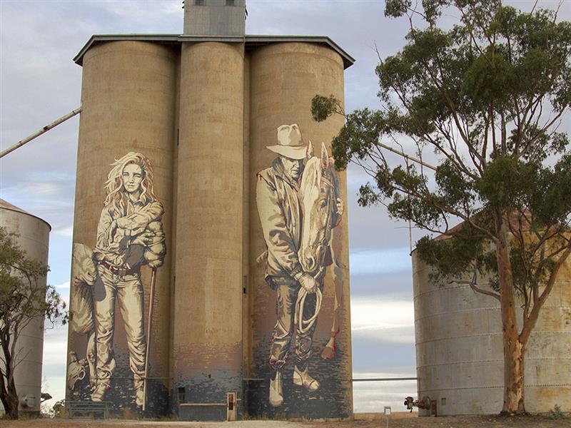 Silo Art Trail, Art & culture, Grampians, Victoria, Australia