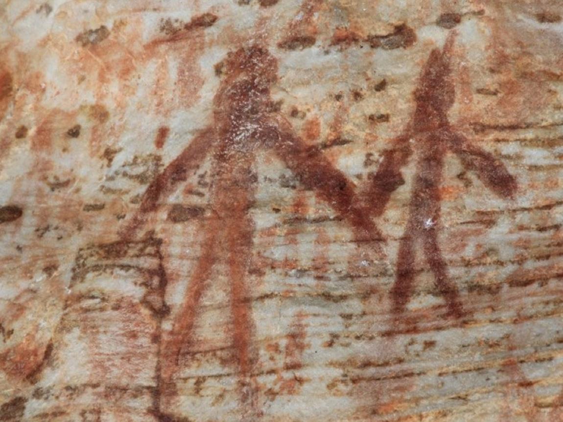 Billimina Rock Art, Grampians, Victoria, Australia