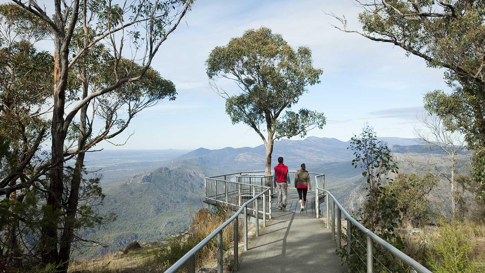 Boroka Lookout, The Grampians, Victoria, Australia