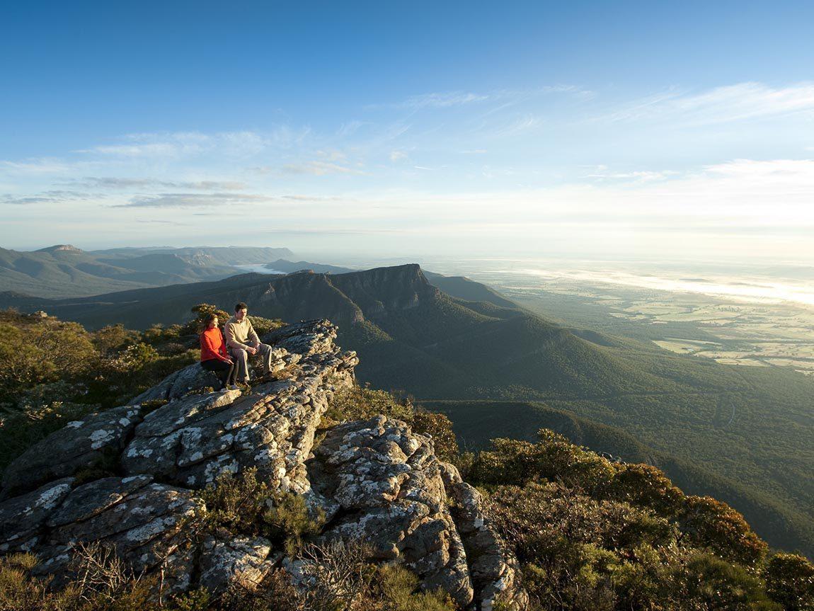 Boronia Peak, Mount William, Grampians, Victoria, Australia