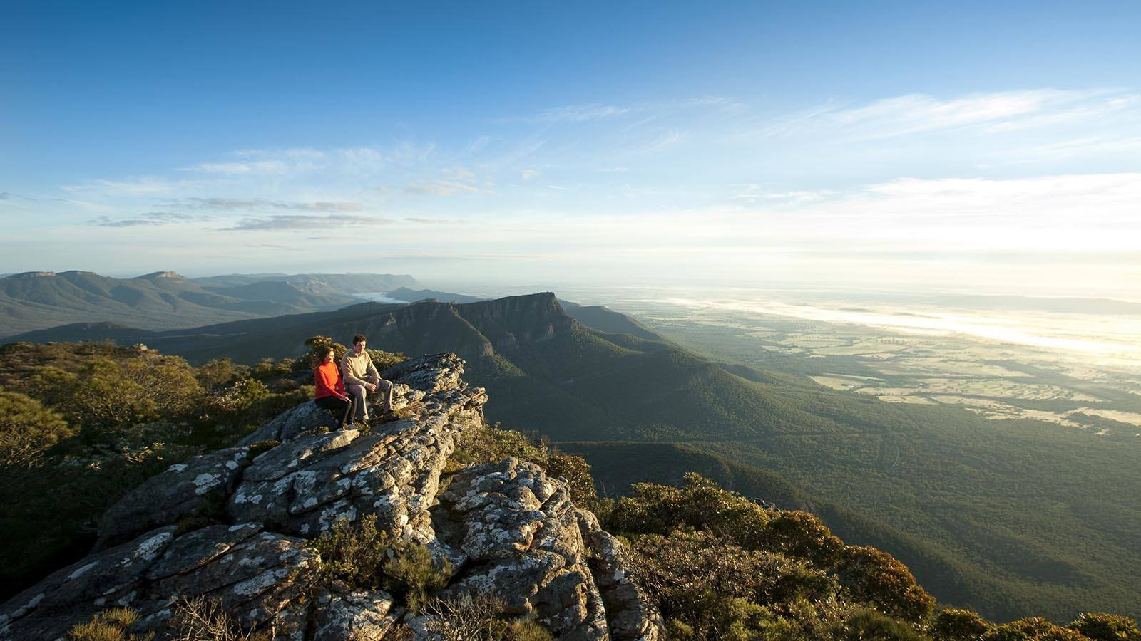 Boronia Peak, Mount William, Grampians, Victoria, Australia