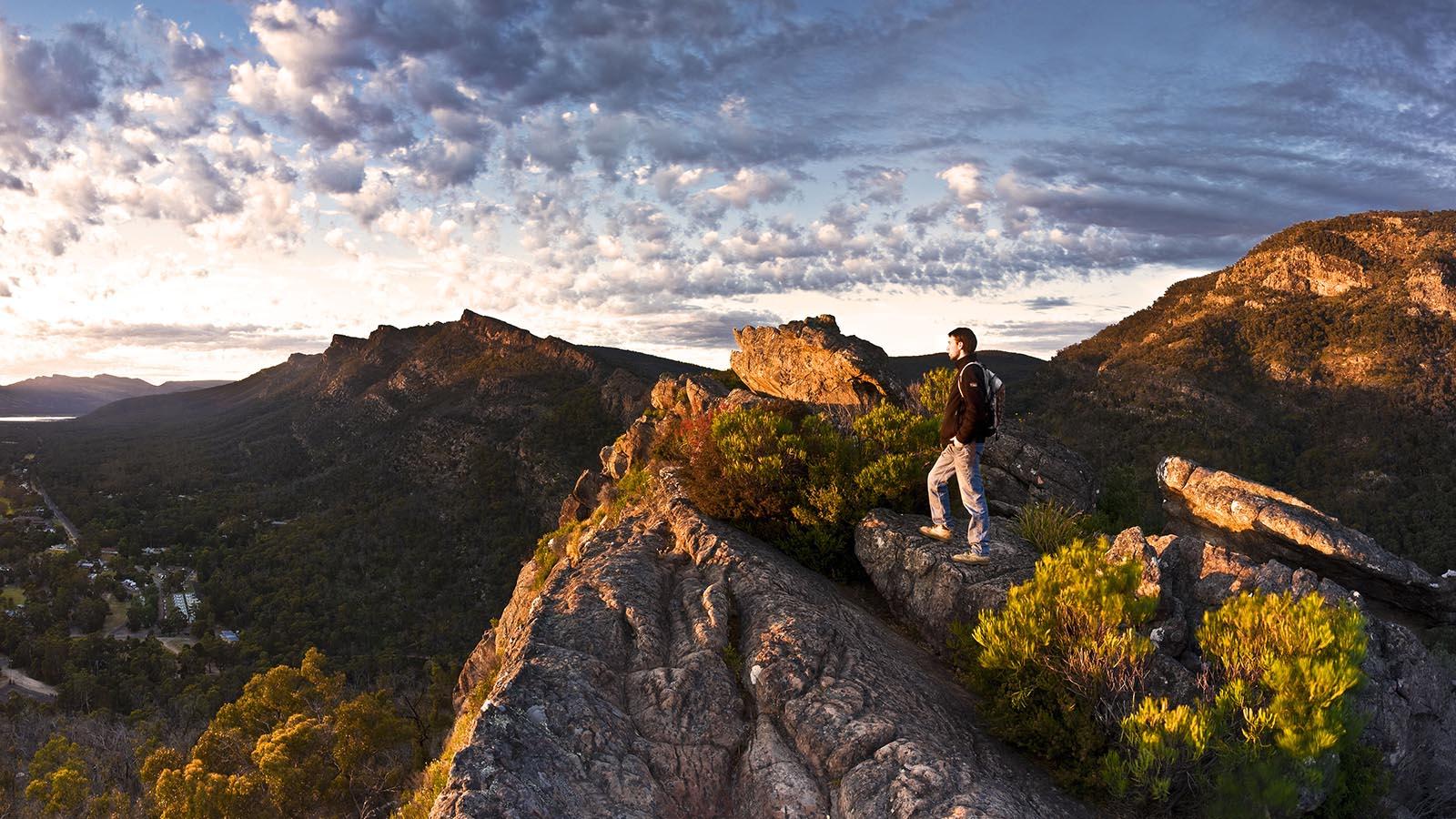 Chatauqua Peak, Grampians, Victoria, Australia