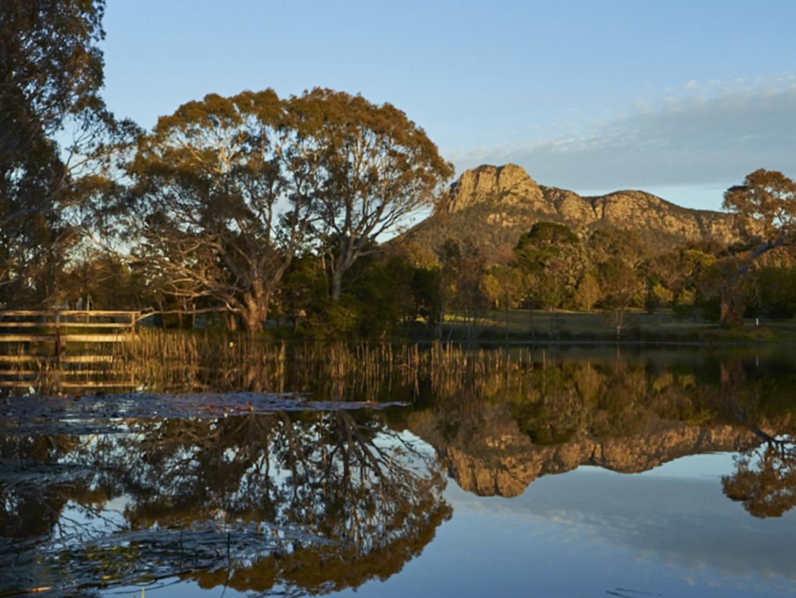 Dunkeld Arboretum, Grampians, Victoria, Australia