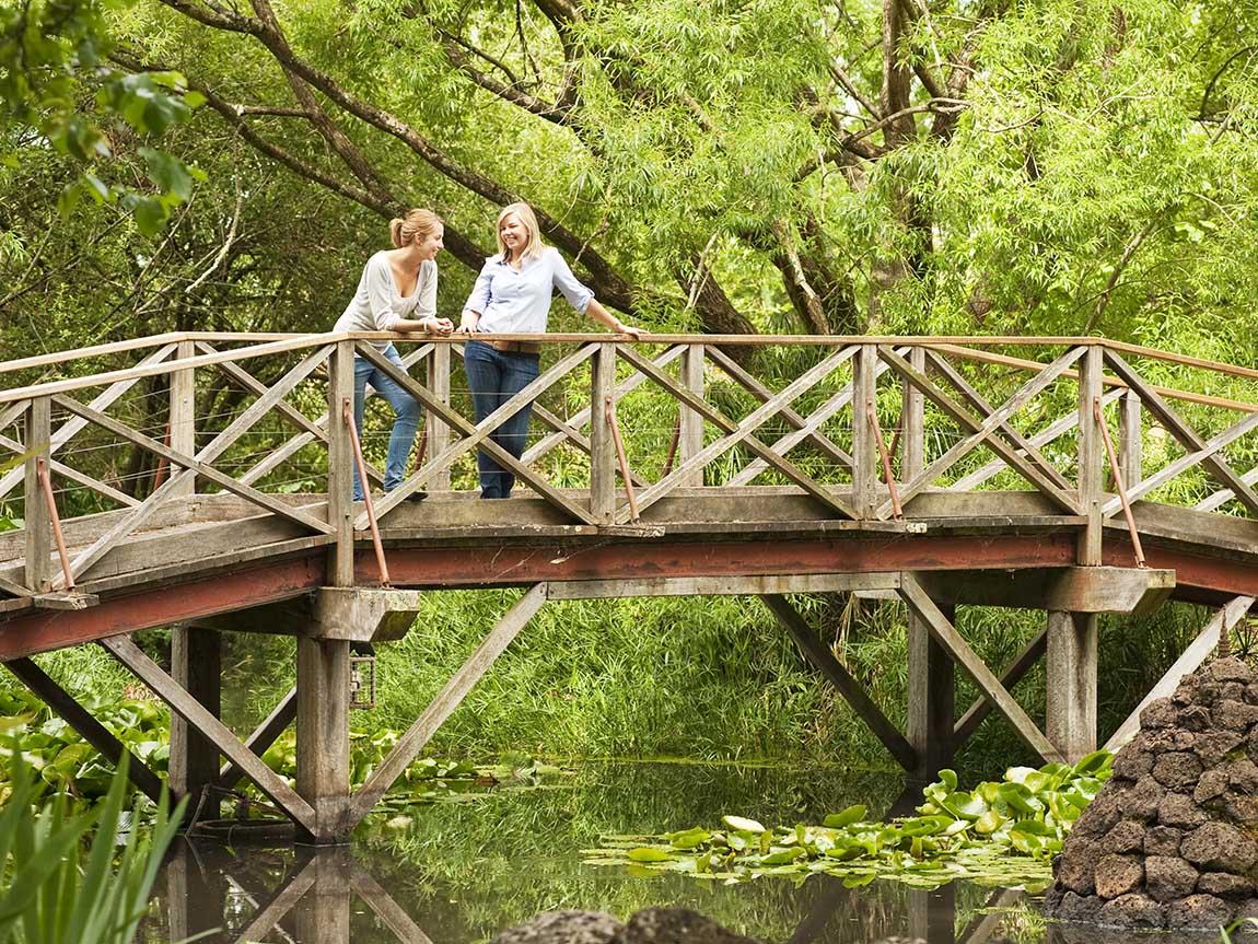 Hamilton Botanic Gardens, Grampians, Victoria, Australia