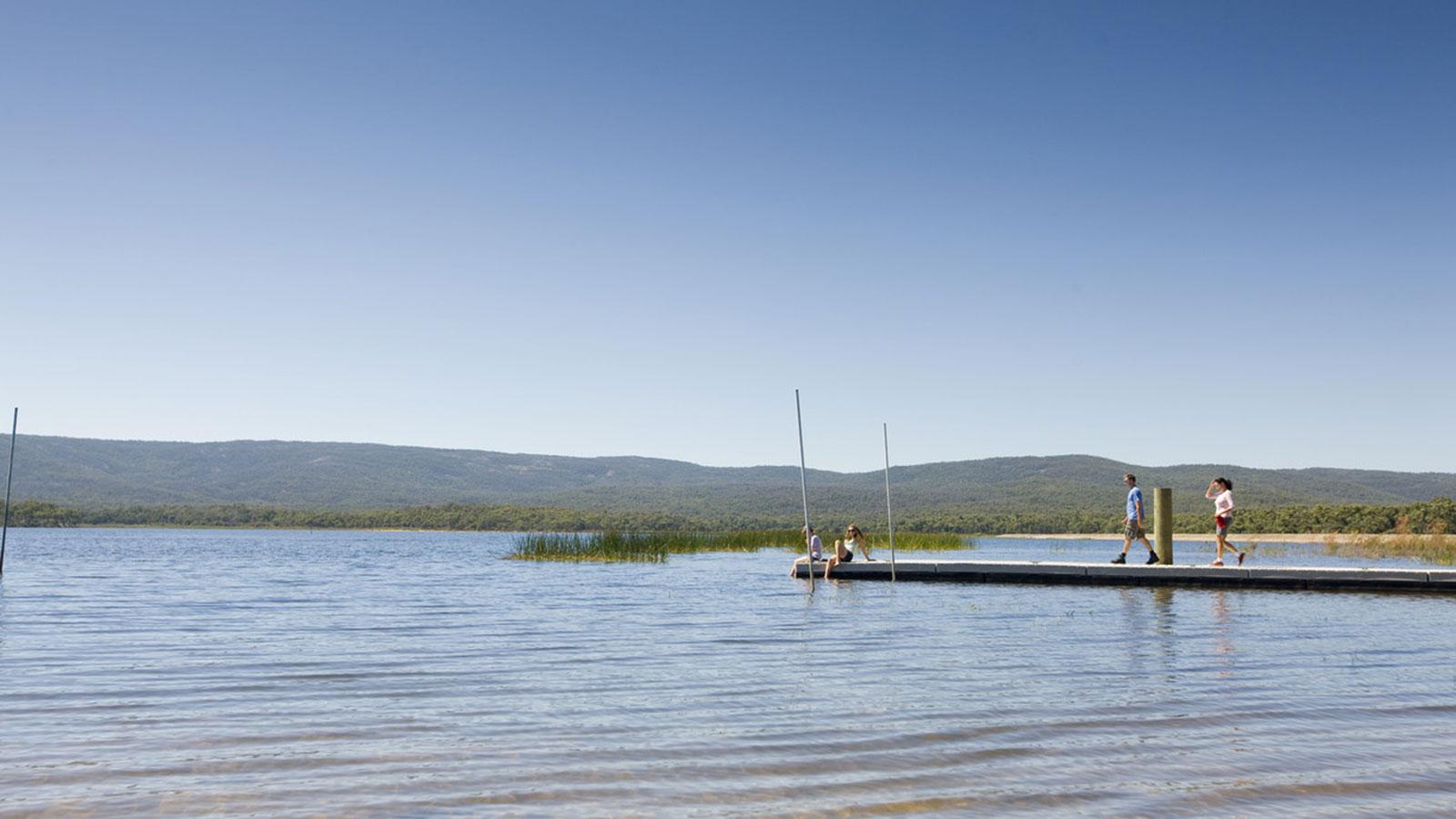 Lake Wartook, Grampians, Victoria, Australia