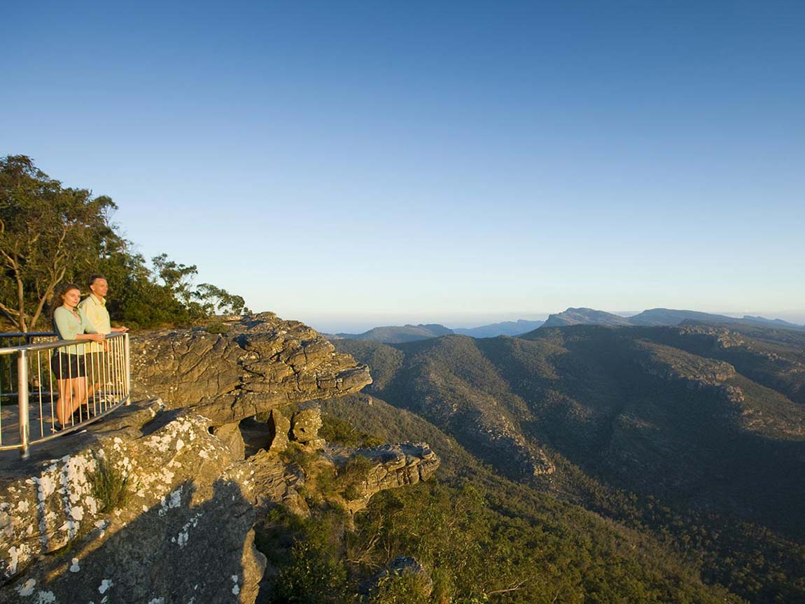 Reed Lookout, The Balconies, Grampians, Victoria, Australia