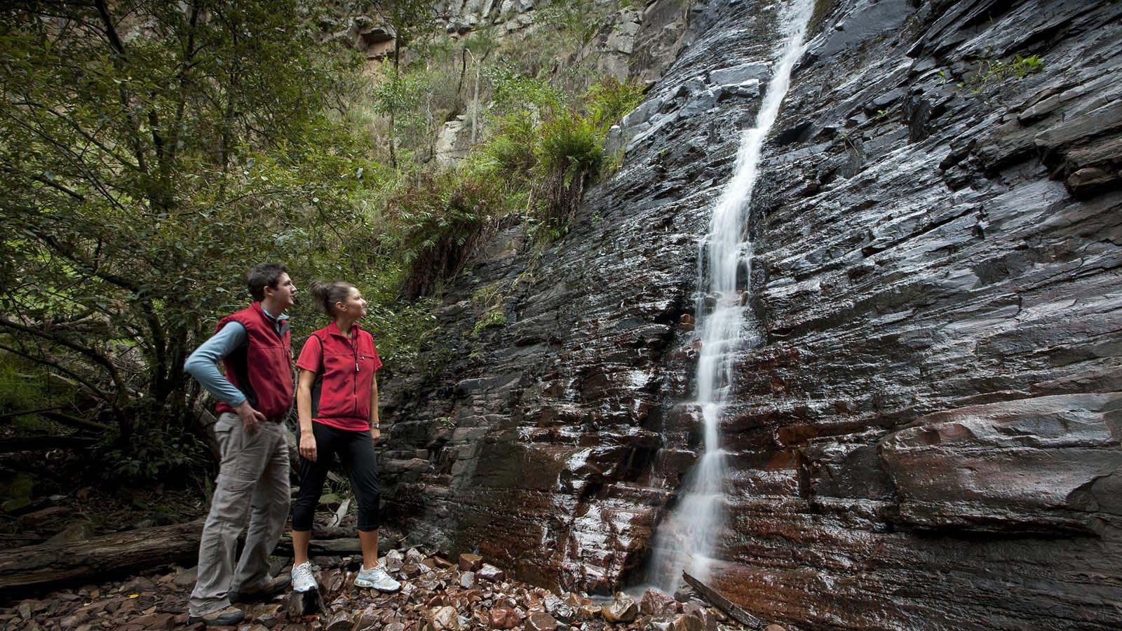 Silverband Falls, Grampians National Park, Grampians, Victoria, Australia