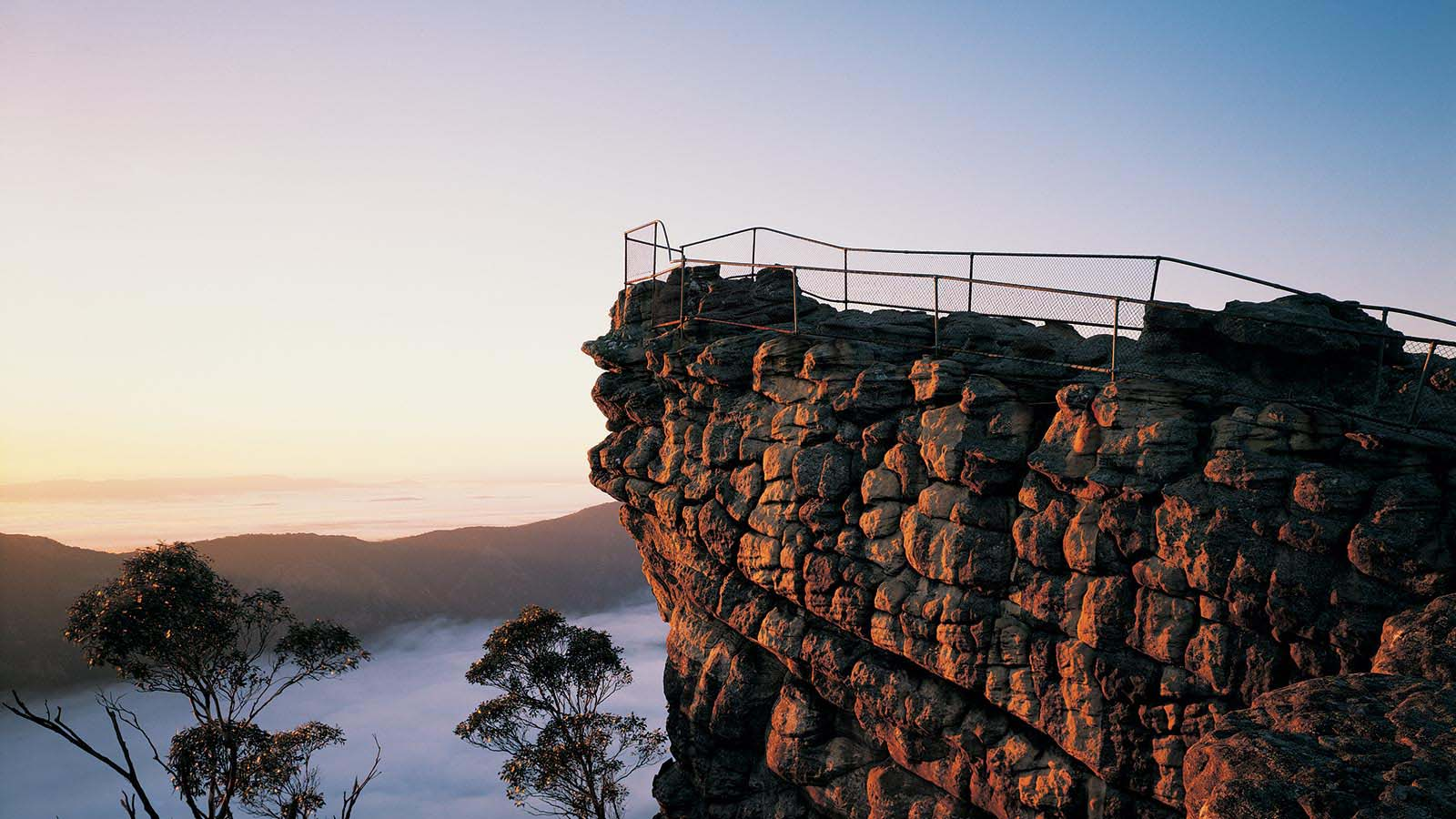 The Pinnacle, Grampians National Park, Grampians, Victoria, Australia