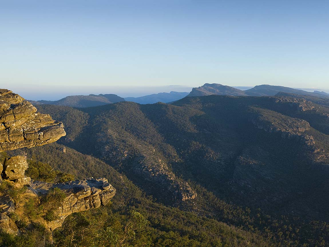 View from Reed Lookout, Grampians National Park, Grampians, Victoria, Australia