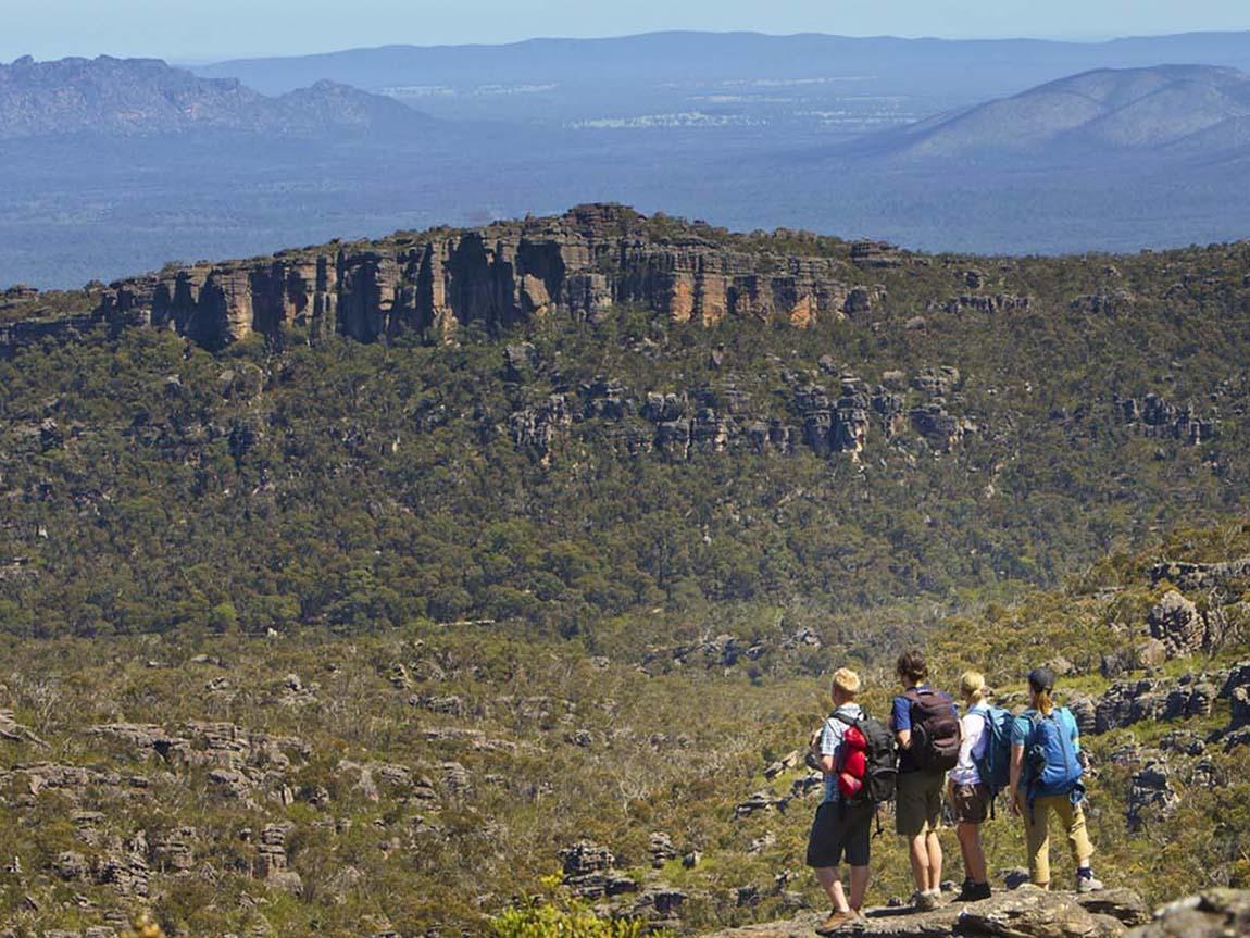 Grampians Peaks Trail, Grampians, Victoria, Australis