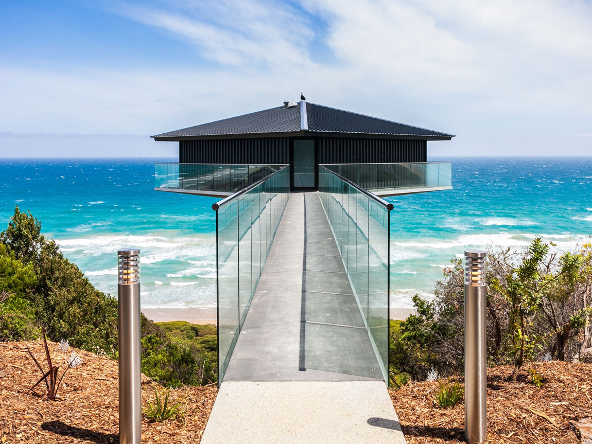The Pole House, Fairhaven, Great Ocean Road, Victoria, Australia. Photo: Great Ocean Road Holidays