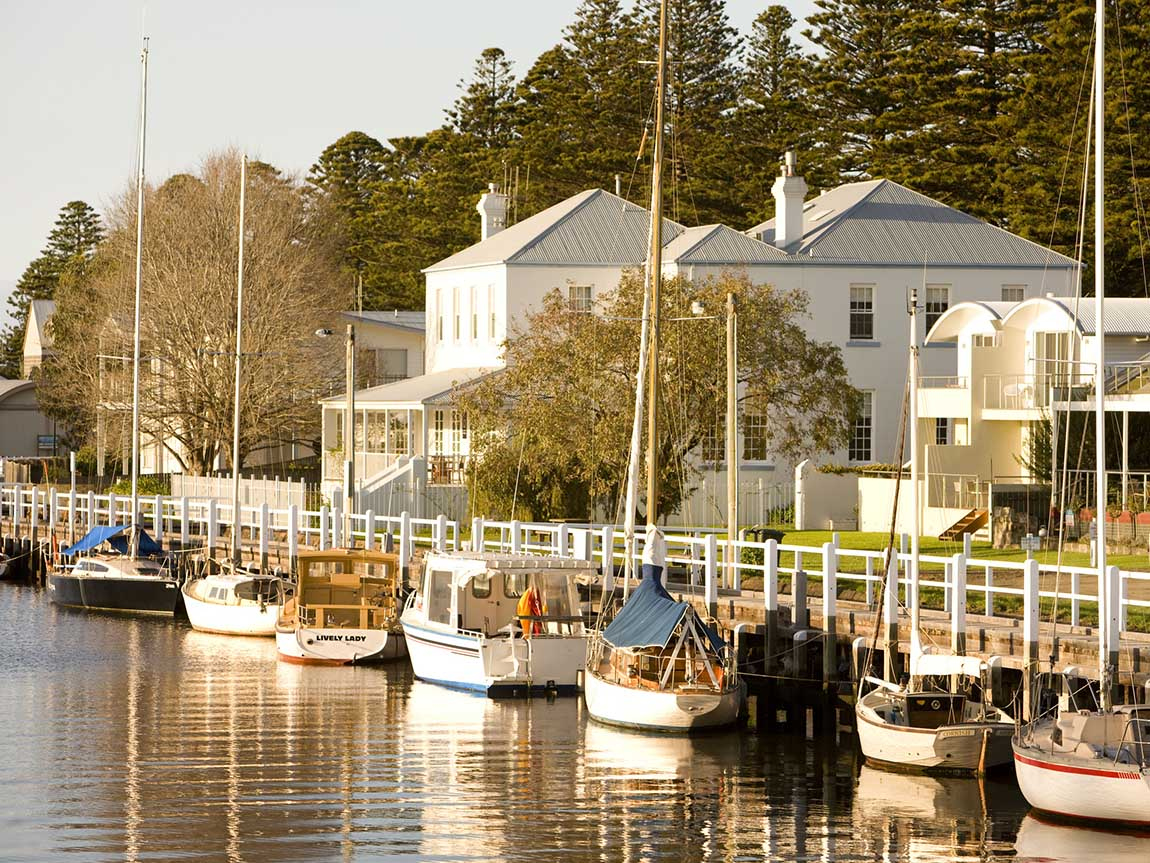 Port Fairy, Great Ocean Road, Victoria, Australia