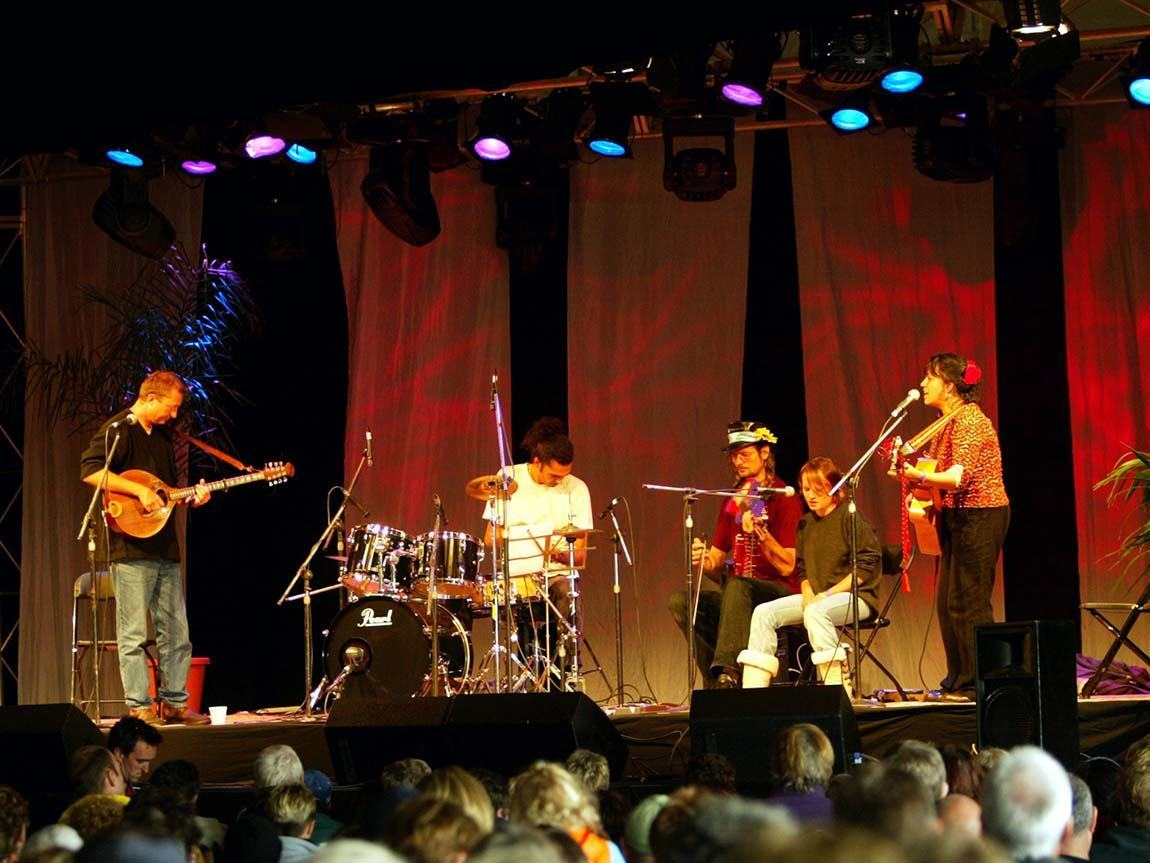 Port Fairy Folk Festival, Port Fairy, Great Ocean Road, Victoria, Australia. Photo: Getty Images