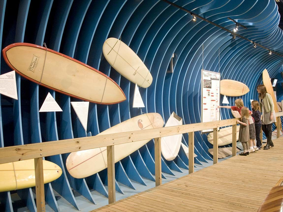 Surf World Museum, Torquay, Great Ocean Road, Victoria, Australia