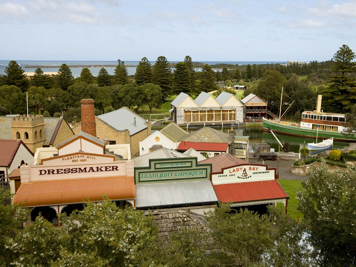 Flagstaff Hill Maritime Village, Warnambool, Great Ocean Road, Victoria, Australia