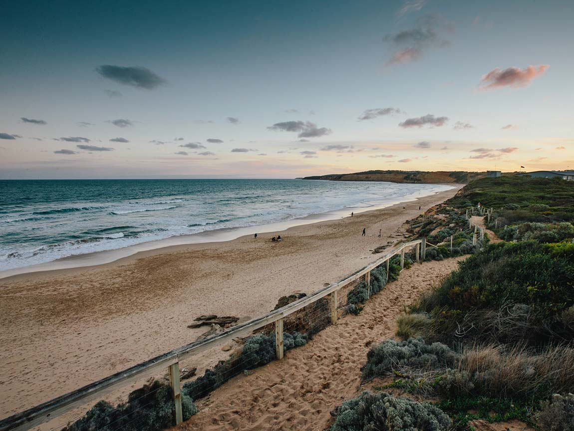 Jan Juc Beach, Great Ocean Road, Victoria, Australia