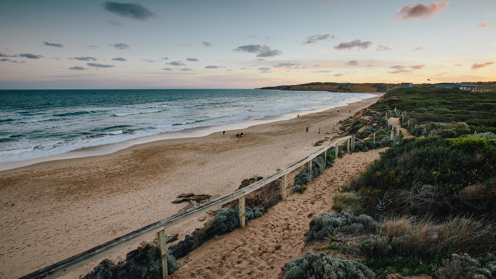 Jan Juc Beach, Great Ocean Road, Victoria, Australia