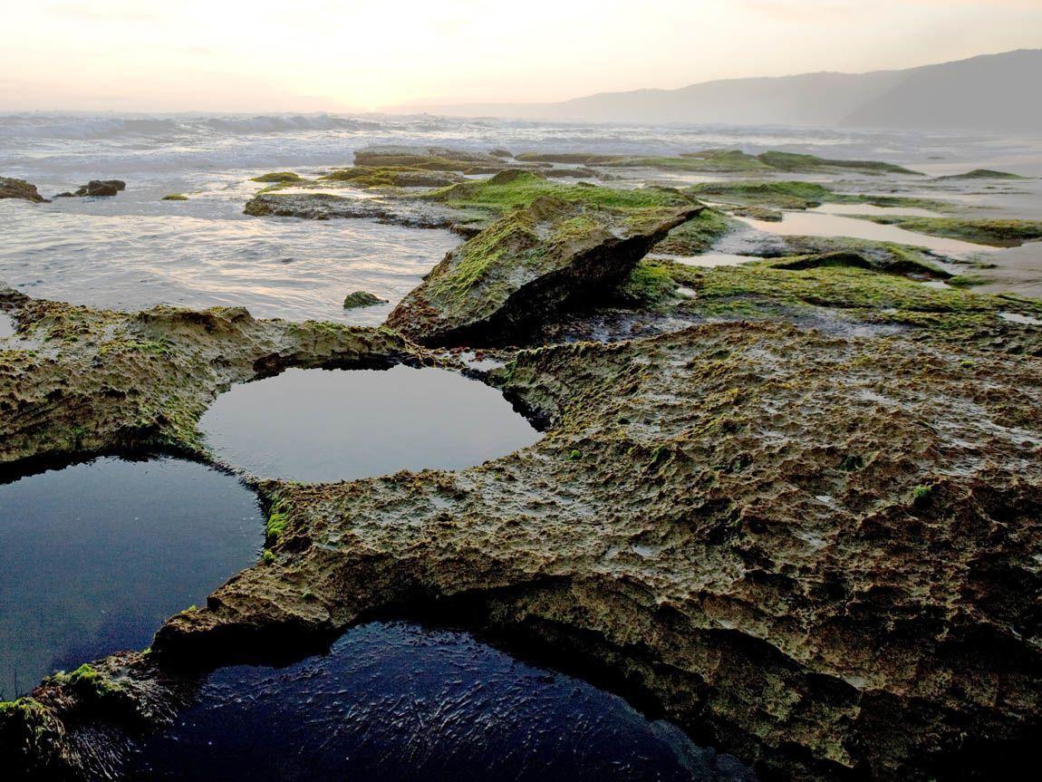Johanna Beach rock pools, Great Ocean Road, Victoria, Australia