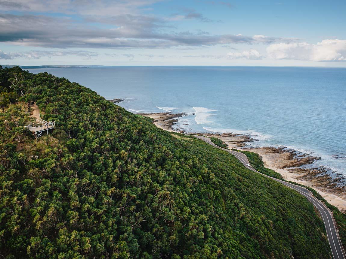 Great Ocean Road touring route Victoria Australia