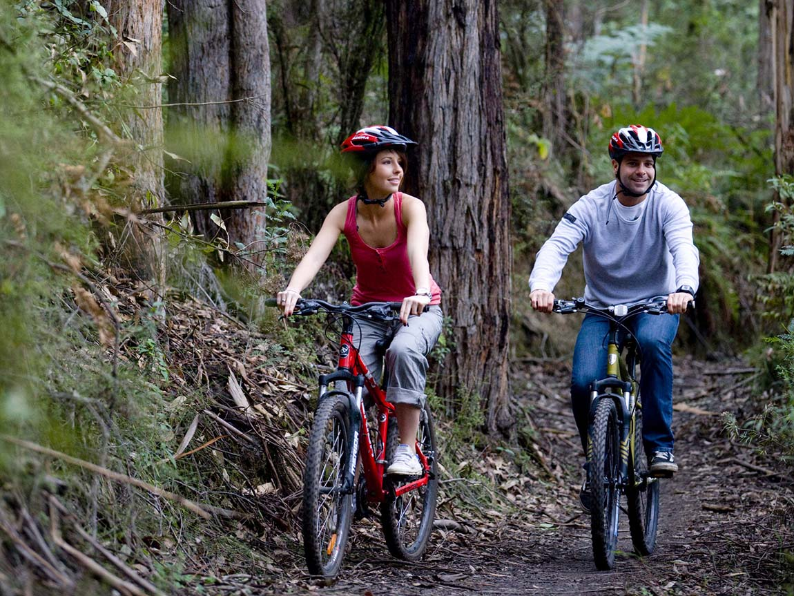 Cycling trails outdoor activities victoria australia Outdoor bicycle